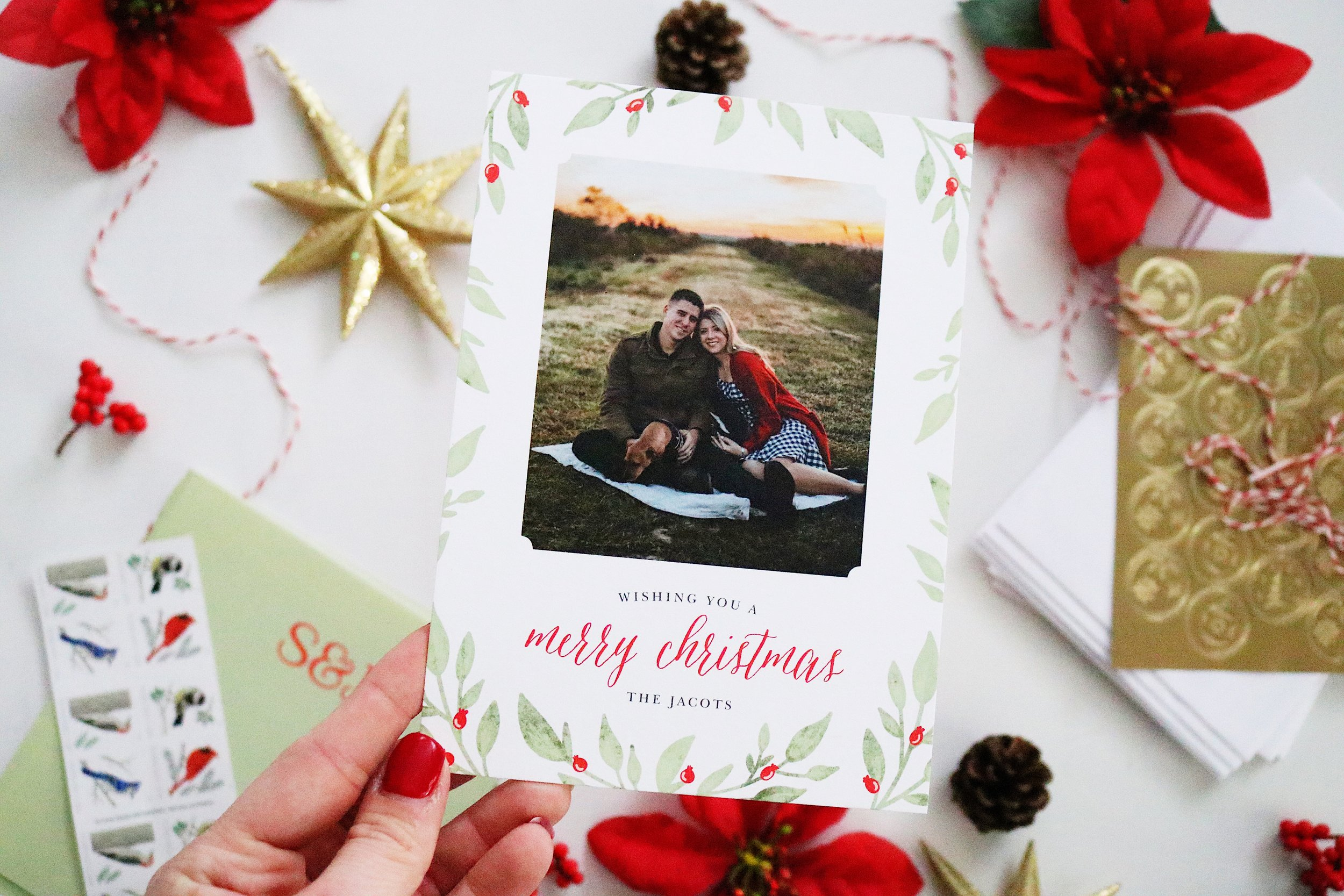 Wander Dust Blog - 4 Tips You Should Know Before Sending Holiday Cards - Basic Invite - Beautiful Christmas Cards (6).JPG