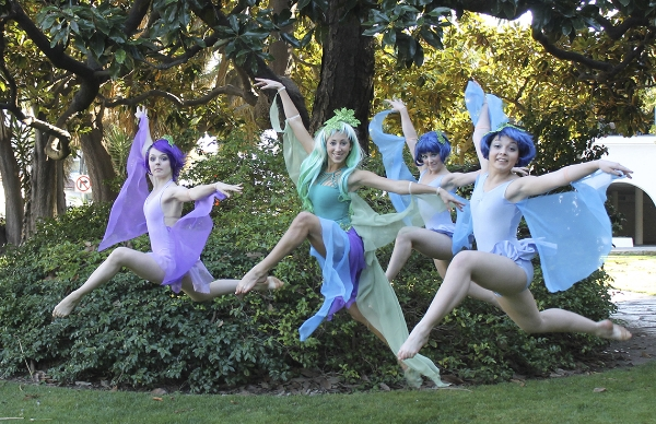 Library Dances, A Midsummer Night's Dream - Courtesy of Art Without Limits