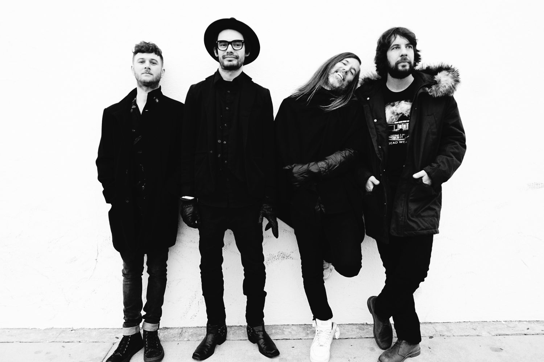 A shot of the band. Photo by Christine Solomon. From left to right: Scott Eton, Esli Sugich, Bobby Moynahan & Anthony Anthos.