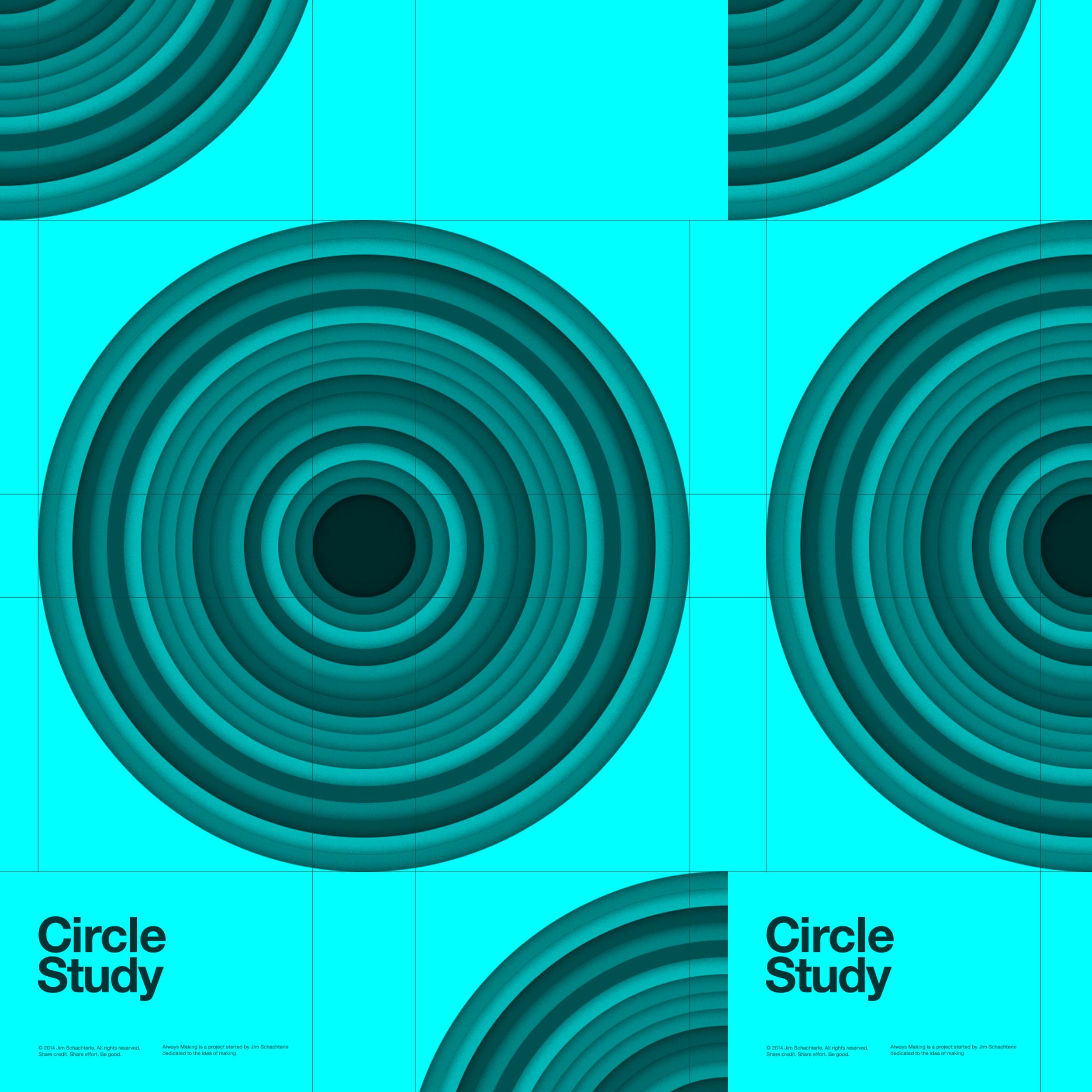 Circle Study, Jim Schachterle