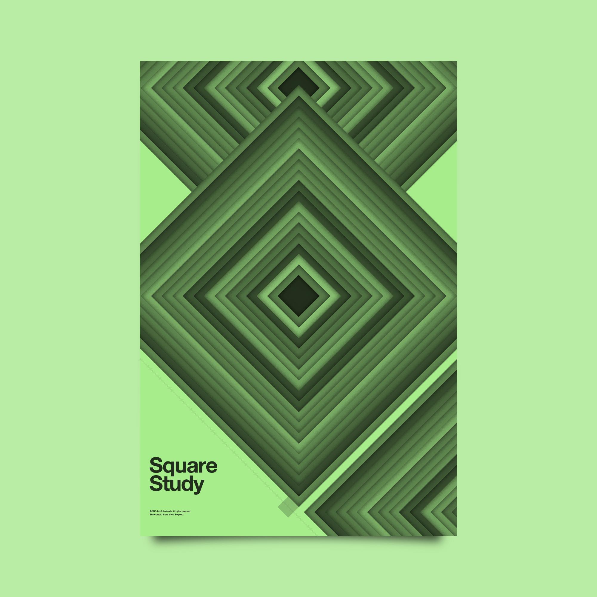Square Study, Jim Schachterle