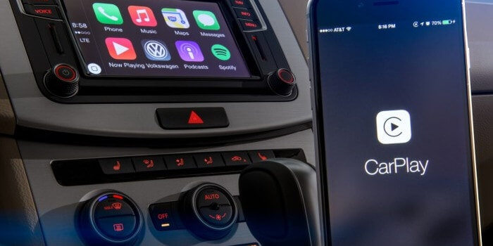 Apple CarPlay at Audio Shack San Diego.