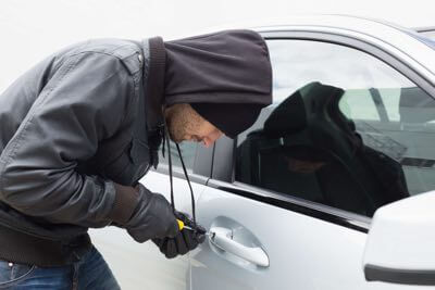Car alarm and security system installation.