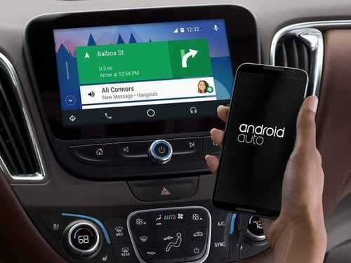 Android Auto installation at Audio Shack in El Cajon, CA