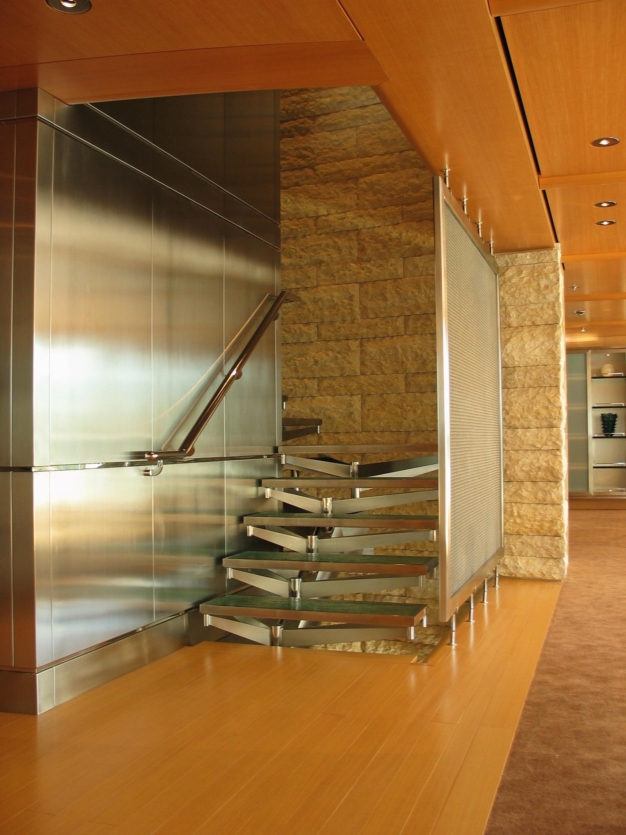 Motor Yacht 1 - Rising Sun - Stairs.jpg