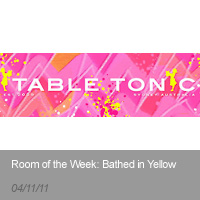 Table Tonic | Room of the Week: Bathed in Yellow