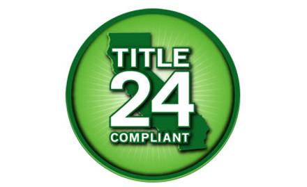 CA Title 24 Energy Code