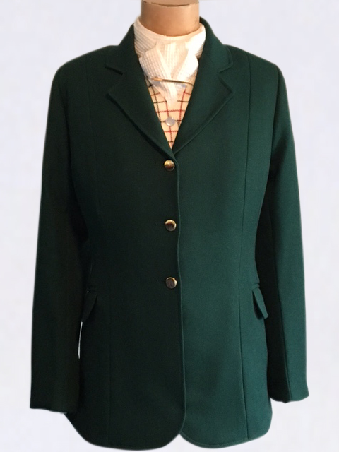 Traditional Style Hunting Jacket - Green