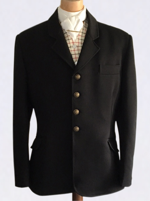 Traditional Style Hunting Jacket - Black