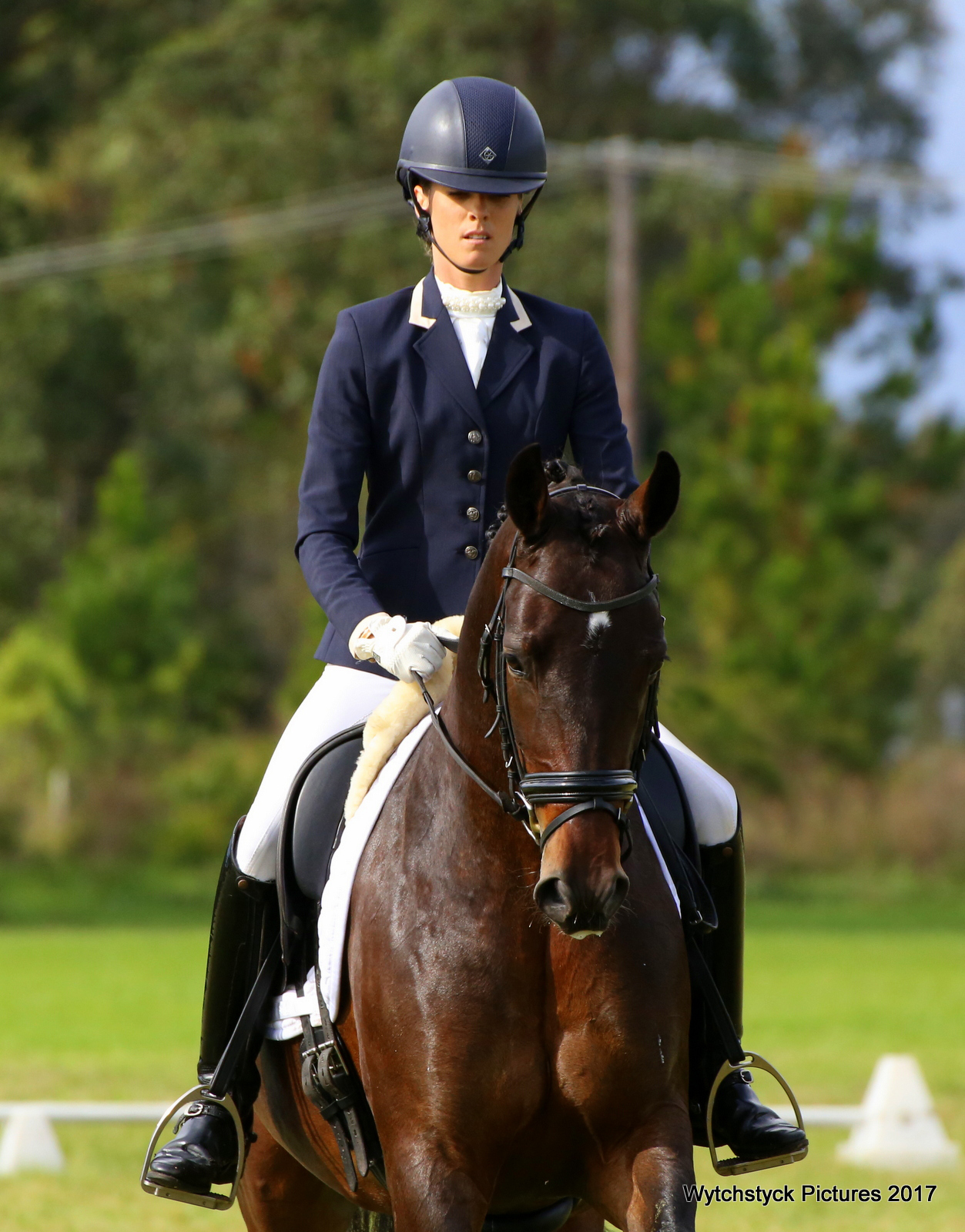Andrea Bank:  Dressage Hunter Valley, Australia