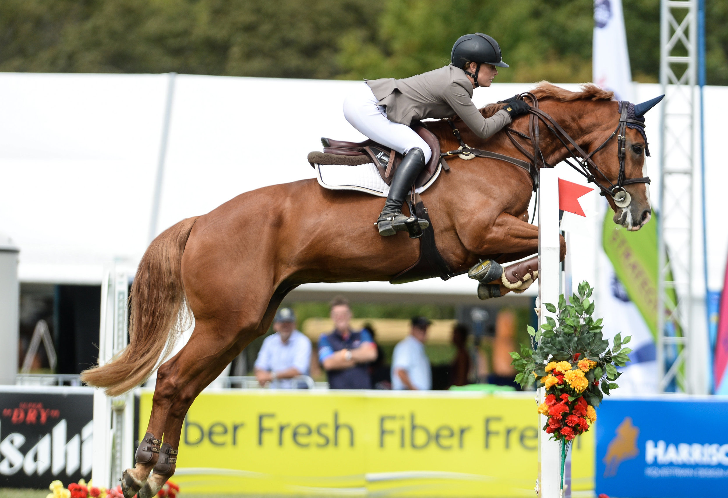 Katie Meredith:  Show jumping Canterbury, NZ