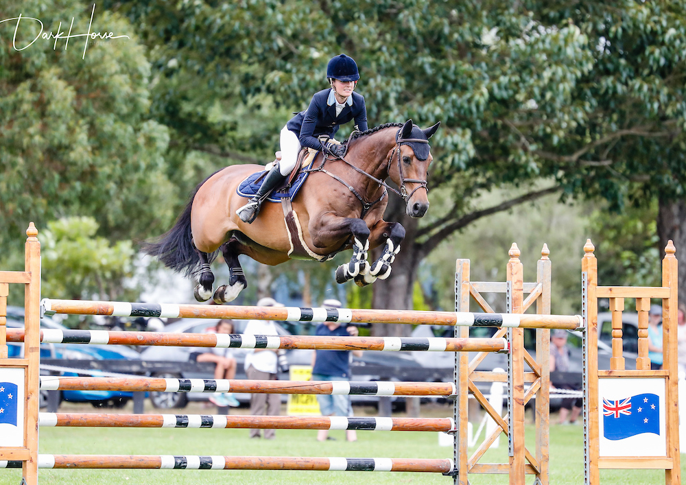 Tegan Fitzsimon:  Show jumping  Canterbury, New Zealand