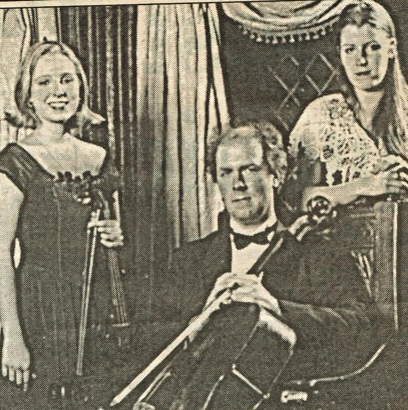 Alexander, Helena and Martina Baillie, 1996