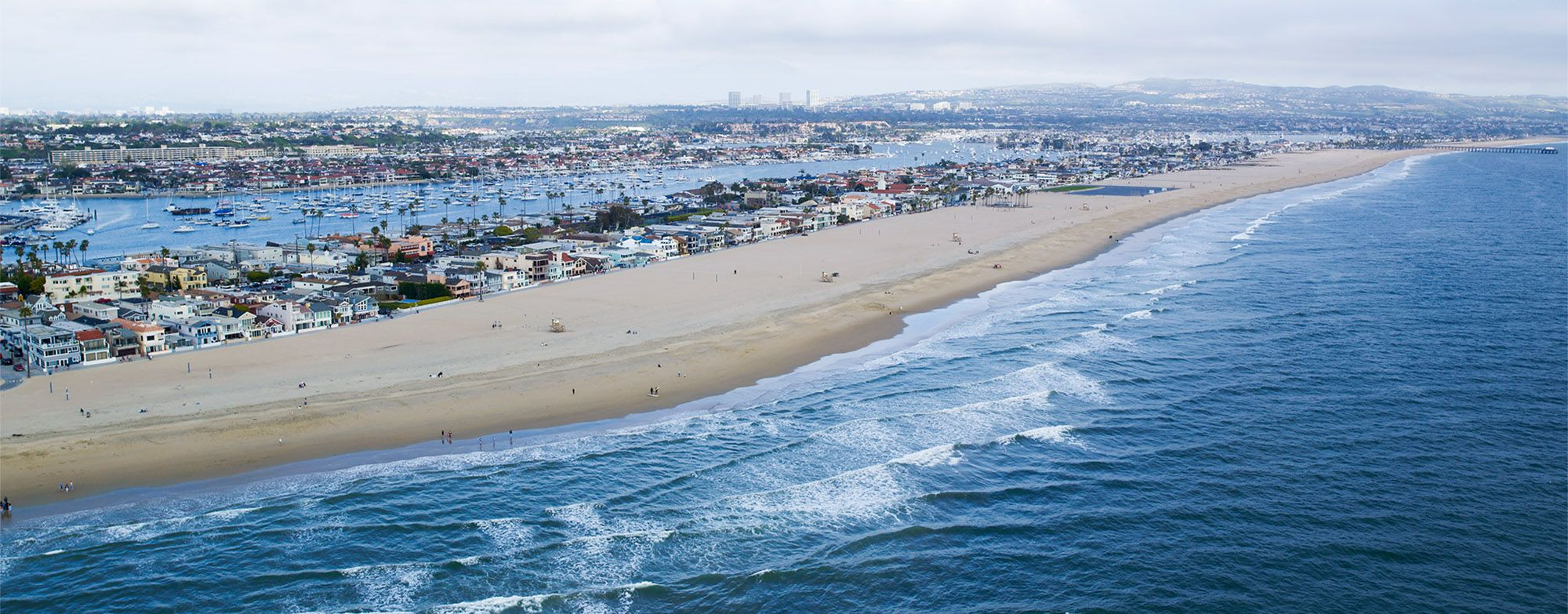 View of Newport Beach from visitnewportbeach.com