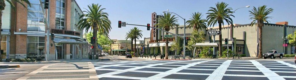Photo of Birch Street in downtown Brea from alexhorowitz.com
