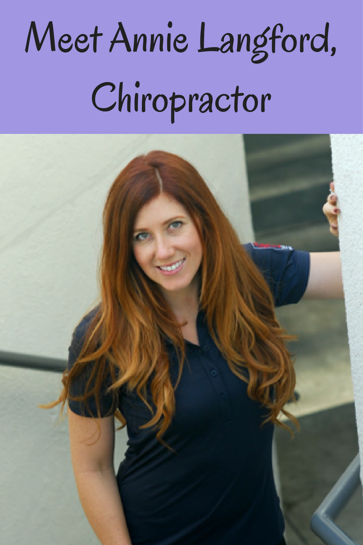 Orange County pregnancy chiropractor Webster Annie Langford