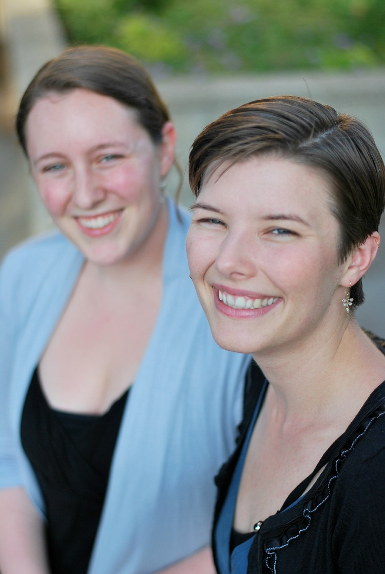 Megan and Marlee Malone-Franklin Newport Beach birth doula