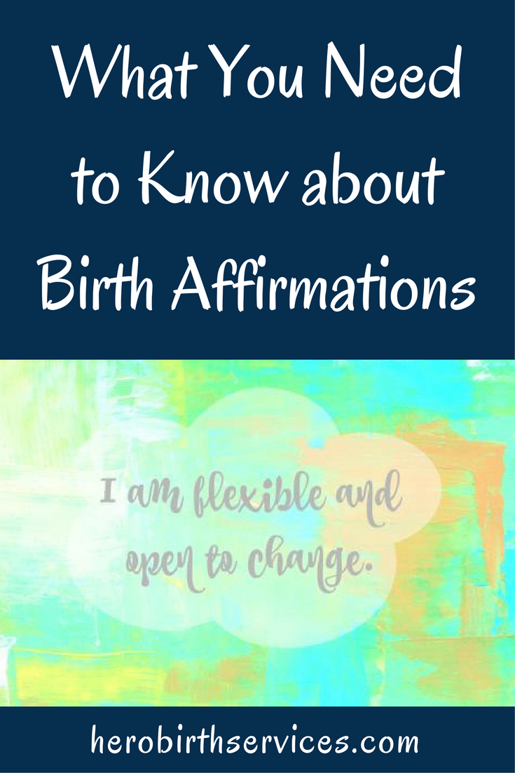 Orange County breastfeeding support what you need to know about birth affirmations