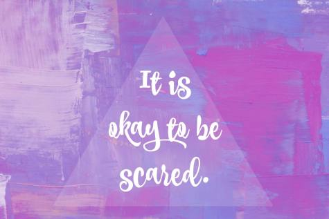 Affirmation it is okay to be scared Irvine birth doula
