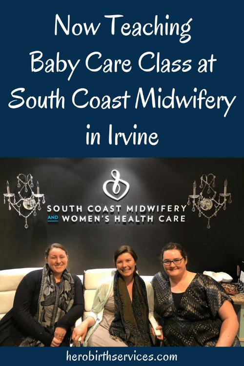 Baby care class Irvine