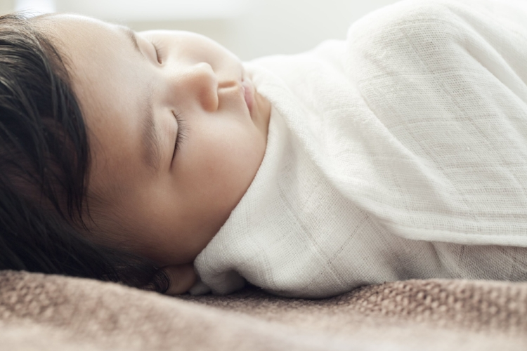 Peaceful sleeping baby Costa Mesa sleep coaching