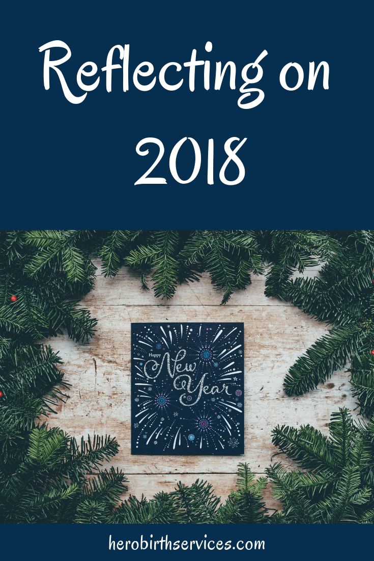 Orange County doula reflecting on 2018