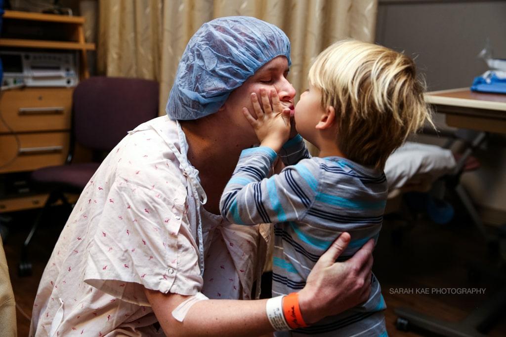 Mission Hospital doula Sarah Kaempfe birth photography