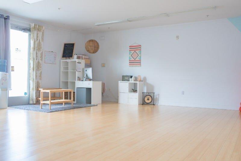 Inside the beautiful Unfold studio