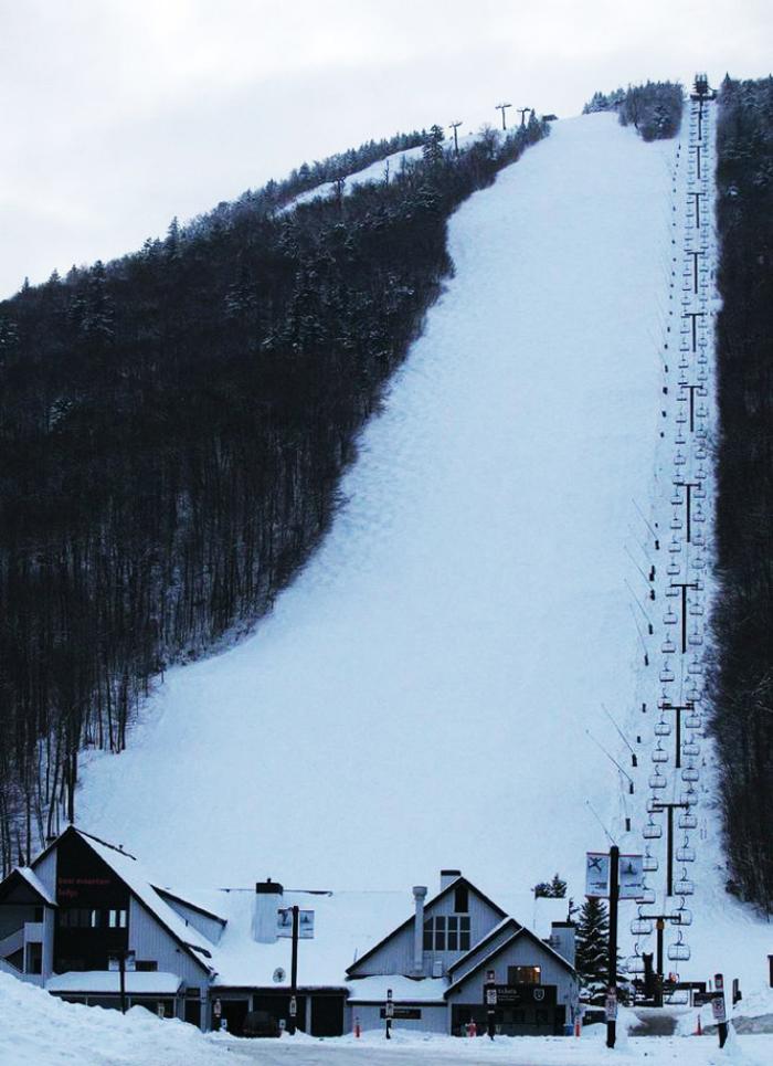 The Epicenter of East Coast Mogul Skiing - Outer Limits, Killington, VT