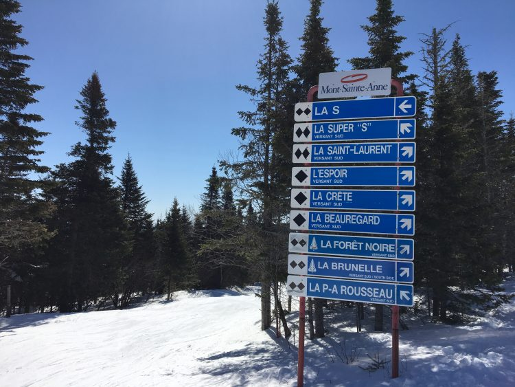 If you want to ski black diamonds, then Mont Sainte Anne has you covered!