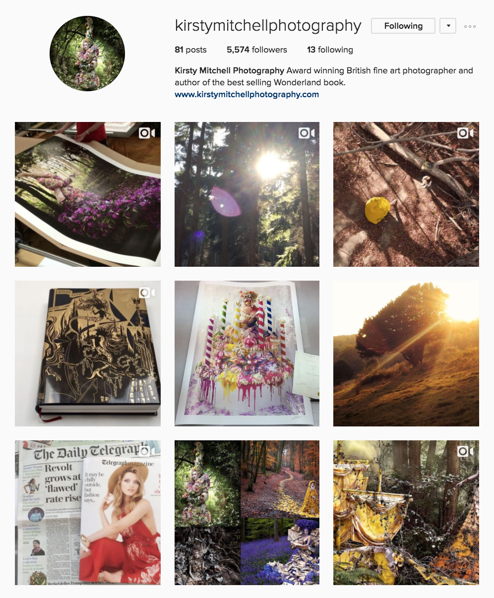 kirsty-mitchell-photography-instagram-account