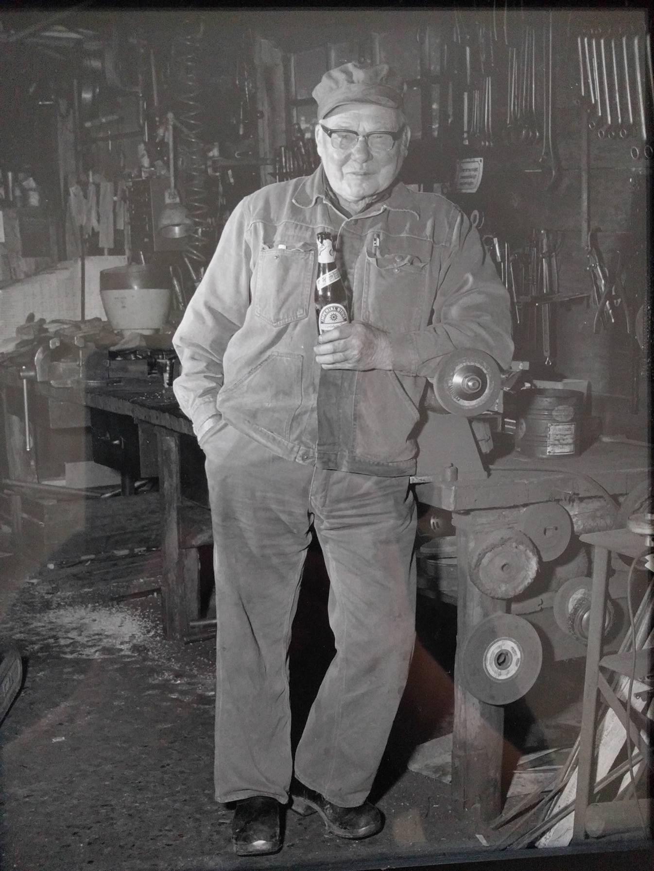 "Photographer: Unknown  My grandfather ""morfar"""