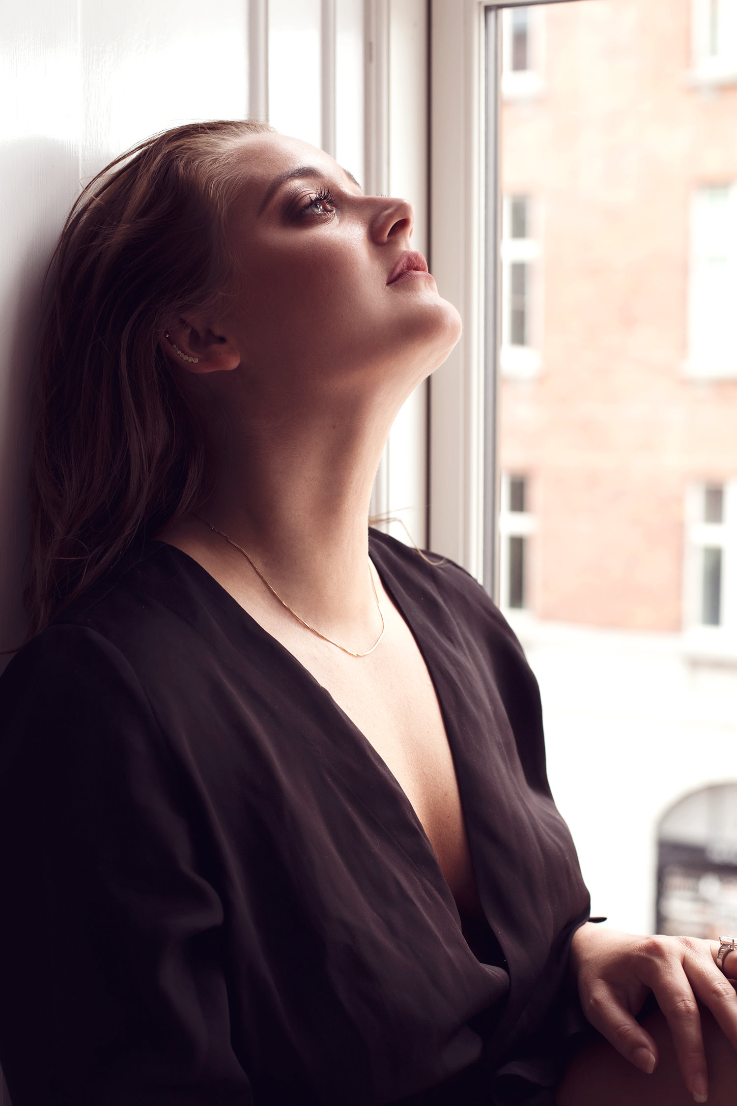 It is incredible what you can do with just a bit of space. These windows were perfect for an intimate series of photos inspired by the beautiful images of French actress Brigitte Bardot posing in windows.