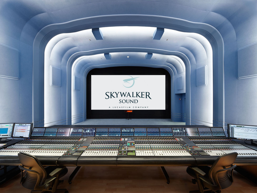 Skywalker Dubbing Stage w/ Neve Digital Console
