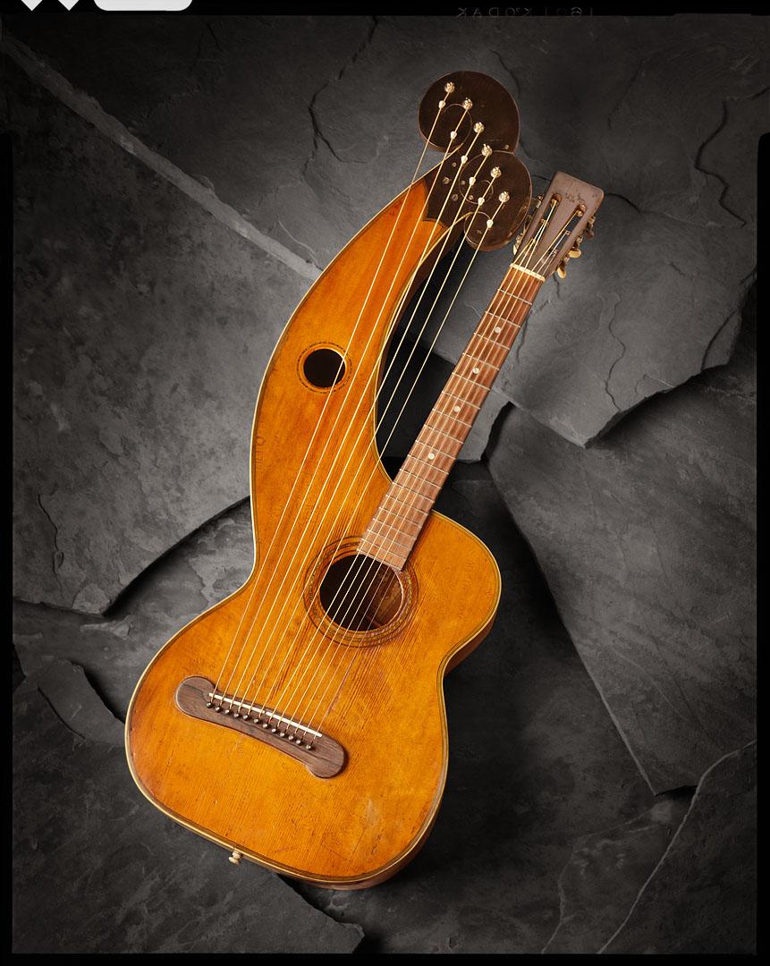 Vintage Harp Guitar