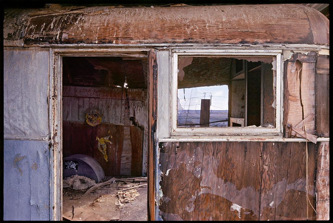 Abandoned Trailer, Salton Sea
