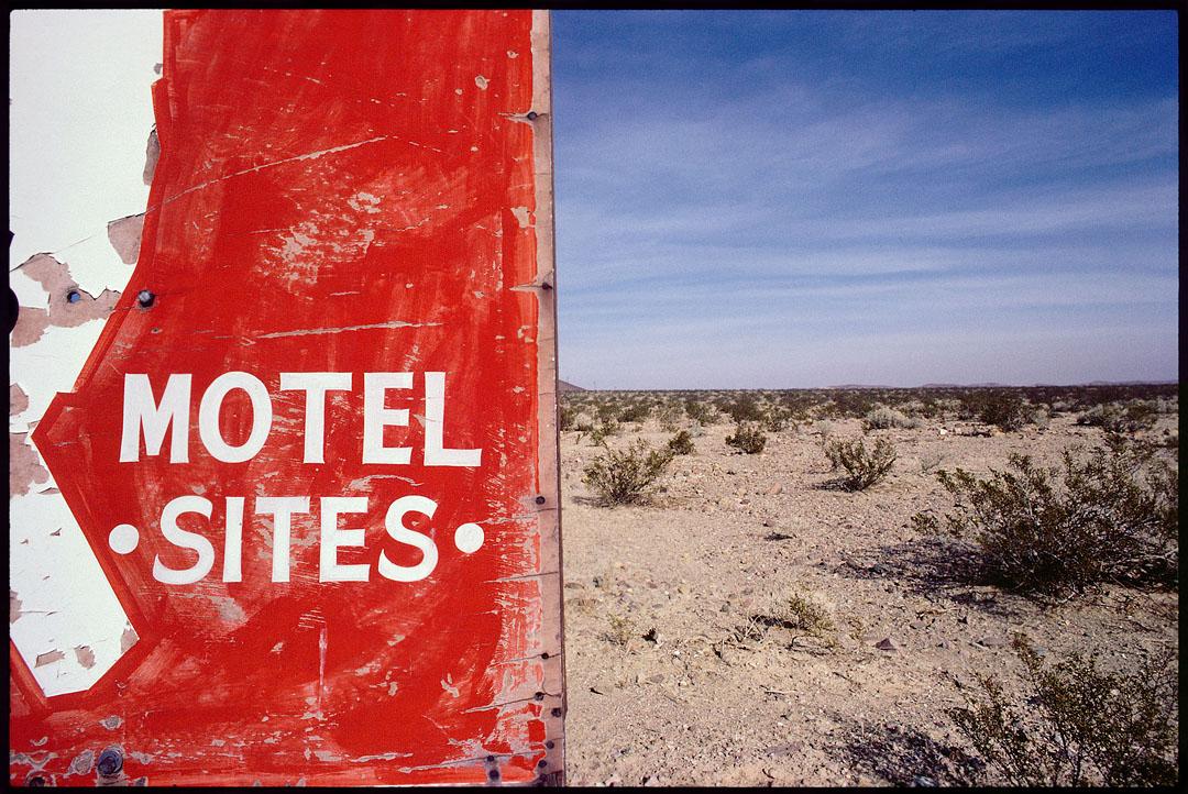 Motel Sites, Mohave Desert, Ca.
