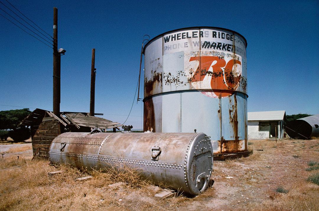 Storage Tanks, Wheeler's Ridge, Ca.