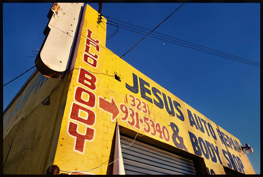 Jesus Auto Body, West Adams Street, L.A.
