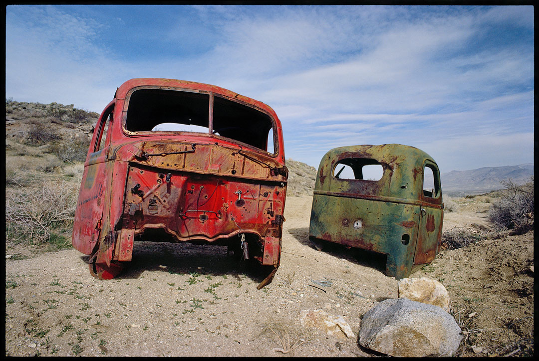 Old Trucks, Red Mountain, Ca.