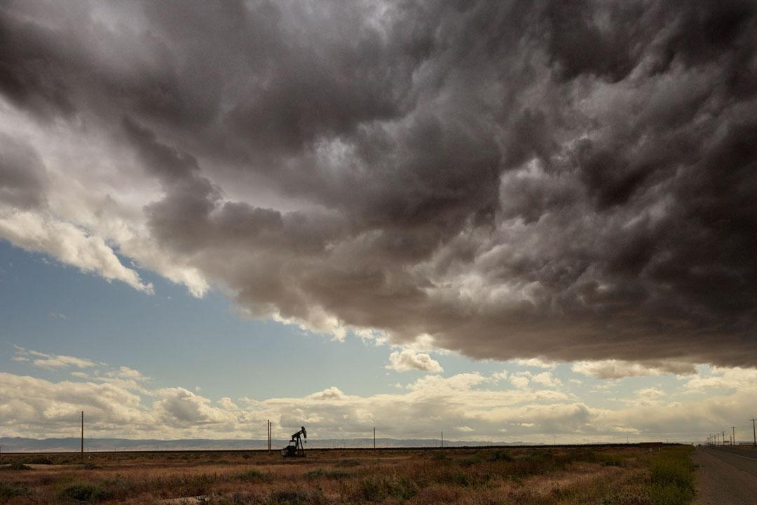 Oil Derrick, HWY 46, Lost Hills, Ca.