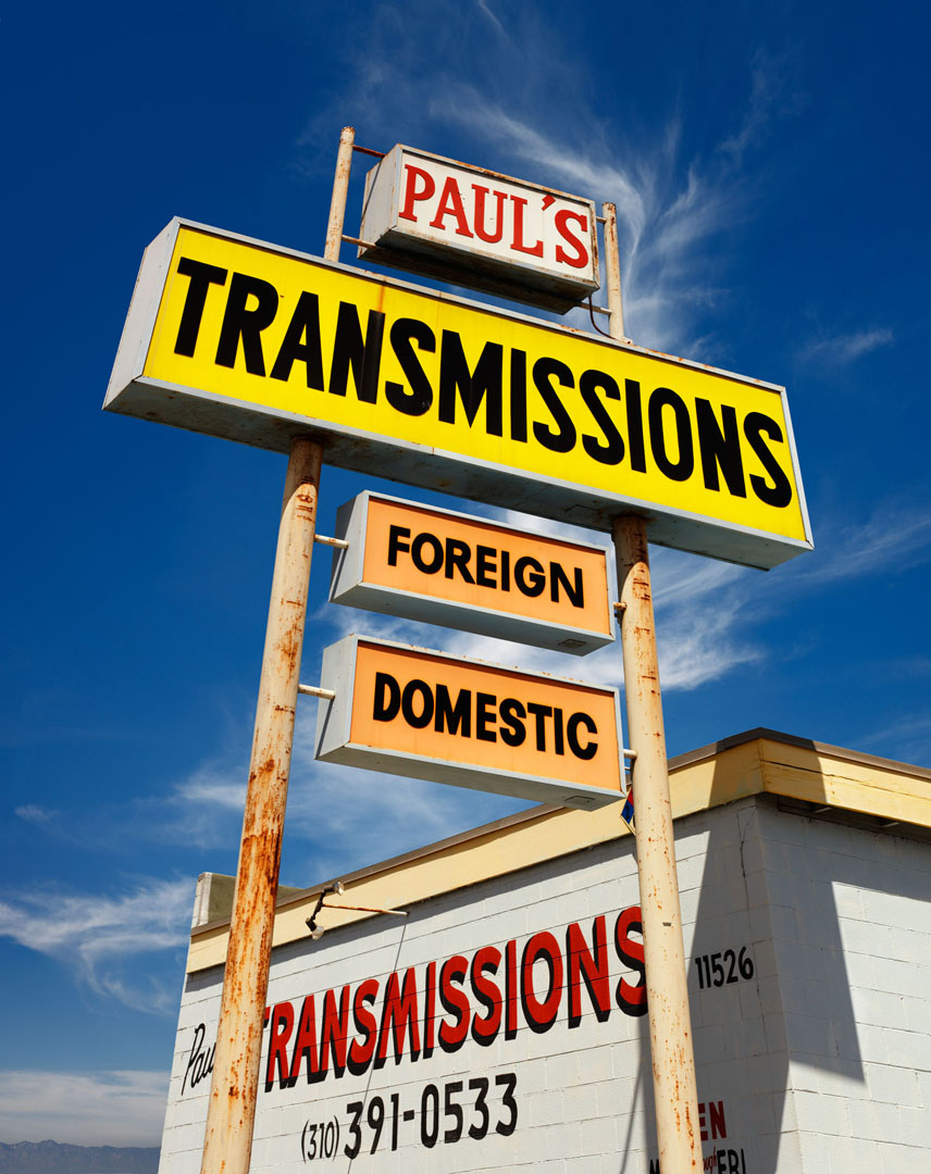 Paul's Transmissions, Culver City, Ca.