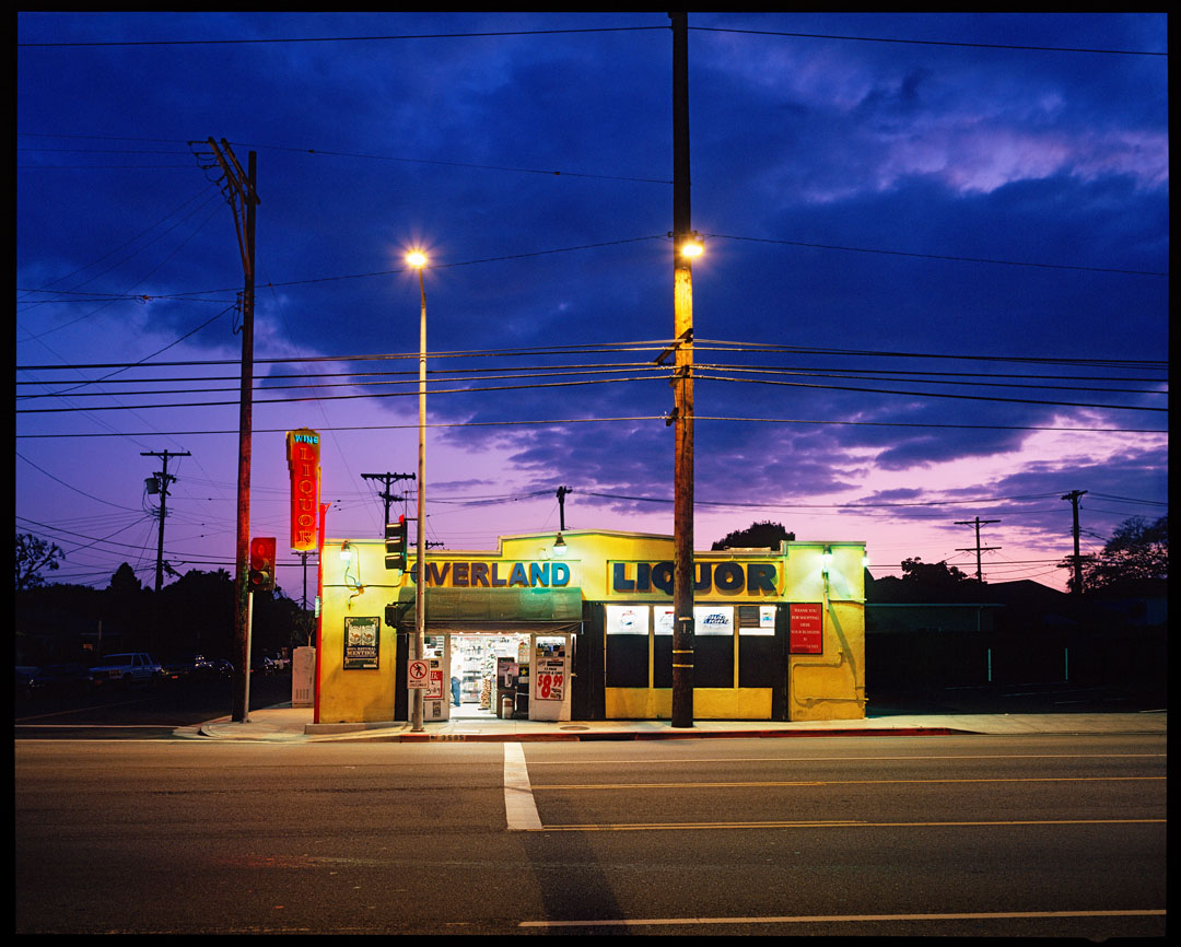 Overland Liquor, Los Angeles, Ca.