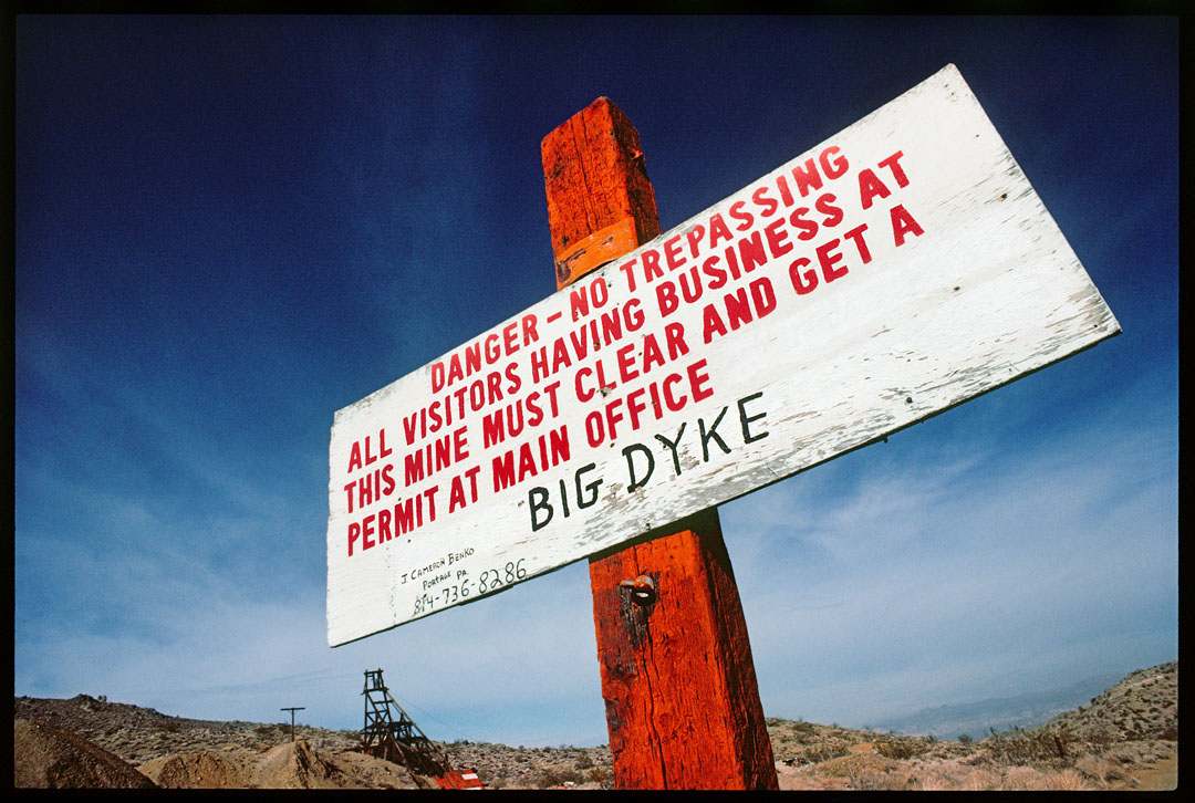 Big Dyke, Red Mountain, Ca.