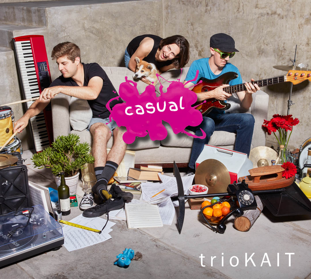 "trioKAIT ""Casual"" CD Cover"
