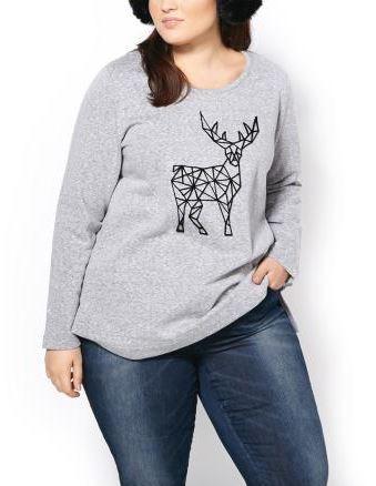 Penningtons Long Sleeve Printed Sweatshirt