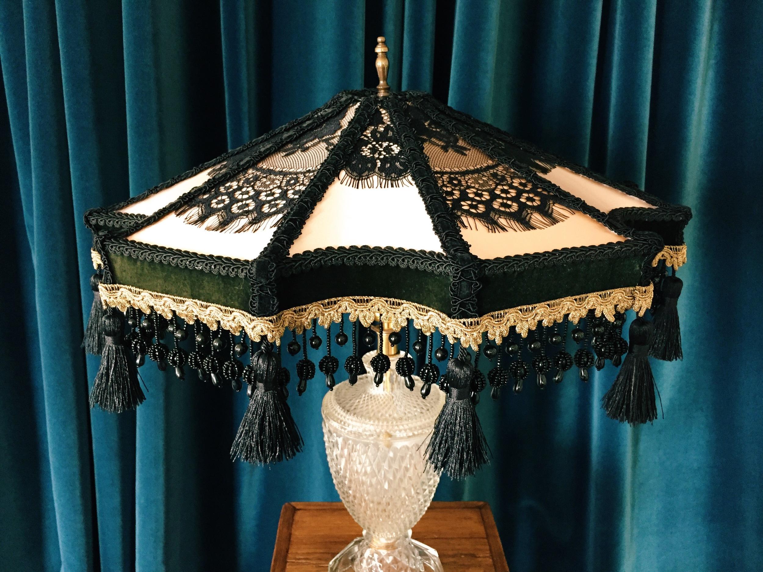 Silk Parlor Victorian Lampshade 6.JPG