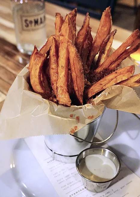 Try This: Flo's Sweet Fries (pictured)