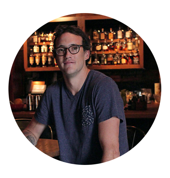 Jeremiah Schenzel, Bar manager at Mercantile & Mash in Charleston.