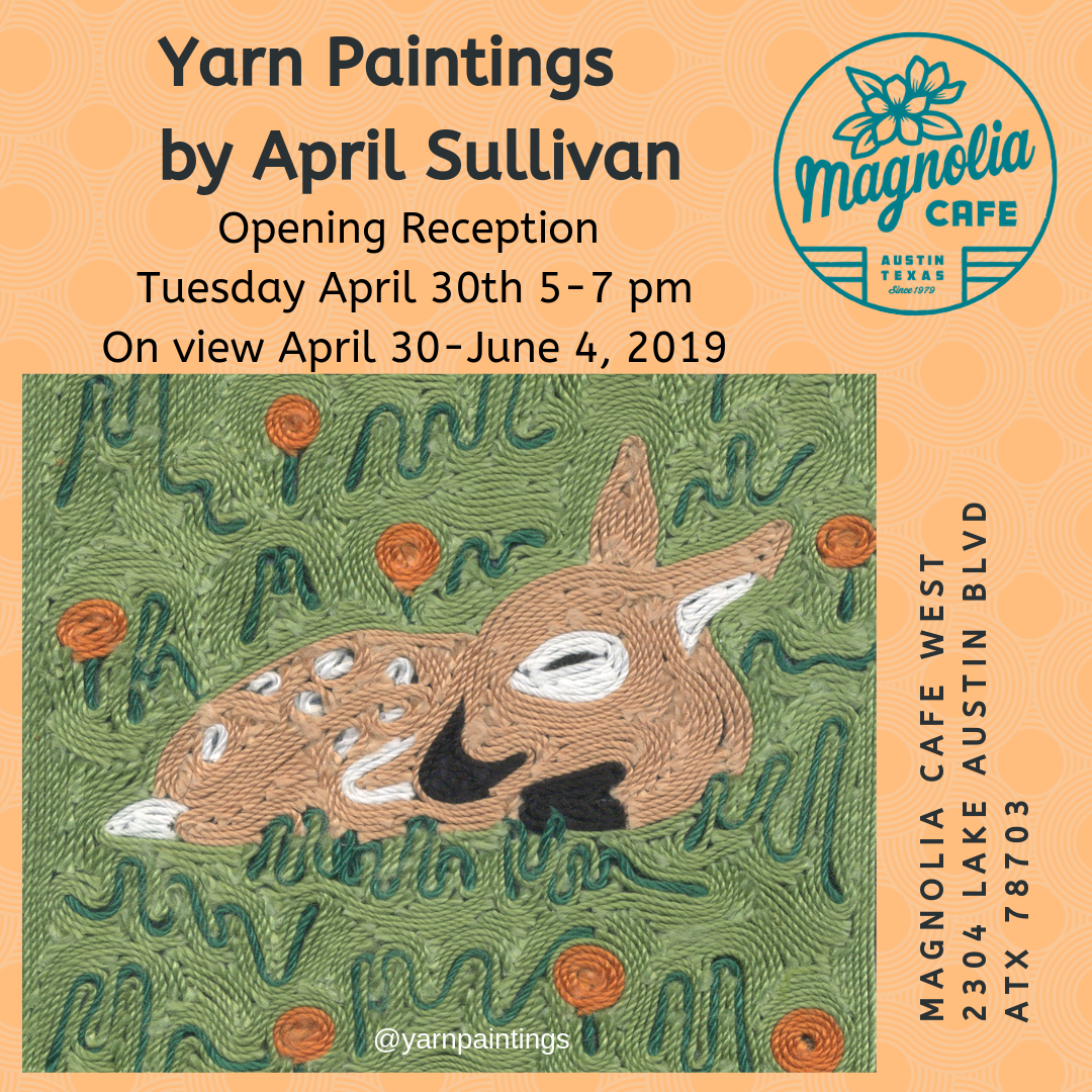 Yarn Paintings by April Sullivan Magnolia Flyer.png